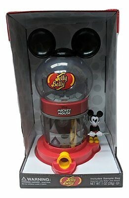 Disney Mickey Mouse Jelly Belly Dispenser Candy Jelly Bean Machine