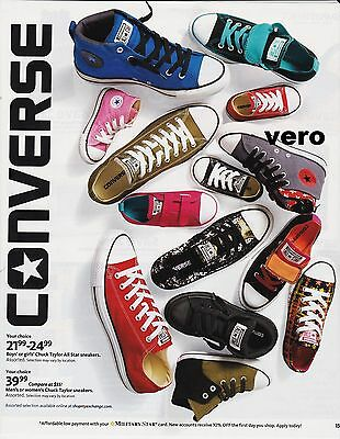 CONVERSE 2014 magazine photo ad print art clipping sneakers shoes advertisement
