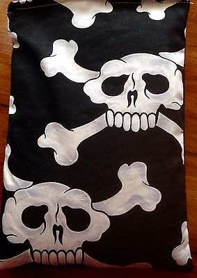 GOTHIC SKULL'S -HEAT Microwave Or COLD Compress Wheat Heat Pack /Bag 100%-Cotton