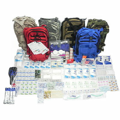 ClaryMed Level 3 First Aid Kit, Military, Survivor and Civilian Medical Kit#7823