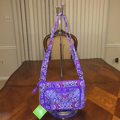 NWT Vera Bradley Little Hipster in Lilac Tapestry