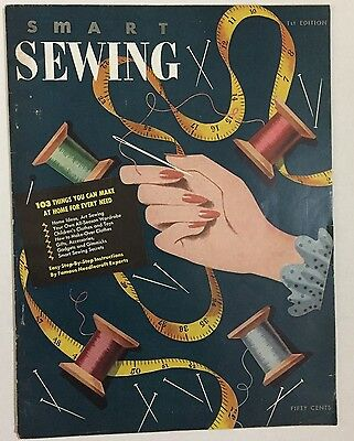 Vintage 1940s Smart Sewing 1st Edition Patterns and Sewing Guide