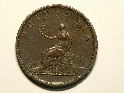Great Britain 1807, ½  Half Penny, George III, KM# 662 #G6541