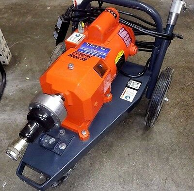 General Wire Model 88 Sewer Drain Snake Plumbing Machine 50' Cables Cutting Bits