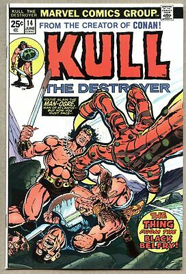 Kull The Conquerer #14-1974 fn The Destroyer / Mike Ploog Jim Starlin