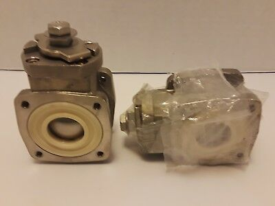 "2 Akron Heavy Duty Swing Out Valve 1"" Body Only 700483 Ball Valve SS Ball  NEW"