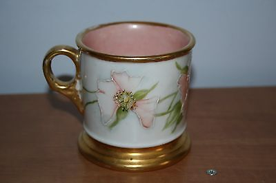 Vintage Victorian Hand Painted Shaving Mug France