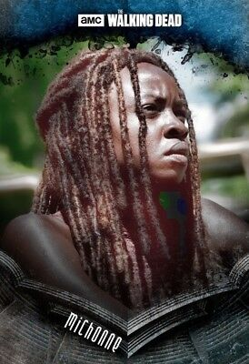 STOIC BLUE MICHONNE The Walking Dead Card Trader Digital