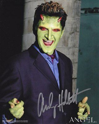 BUFFY ANGEL ANDY HALLETT LORNE # 3 hand signed