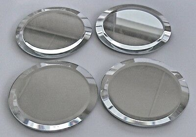 Display mirrors for Swarovski Crystal collectibles - Set of 4 large mirrors