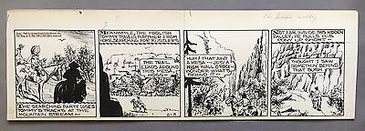 Broncho Bill Daily 8-3-45, Original art Harry O'Neill