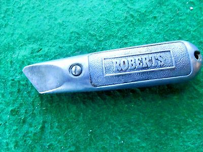 Vintage Roberts box cutter no. 10-920 knife Fr /iw