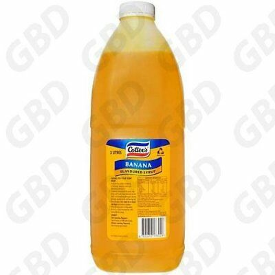 Cottees Banana Topping Flavouring Syrup 3L
