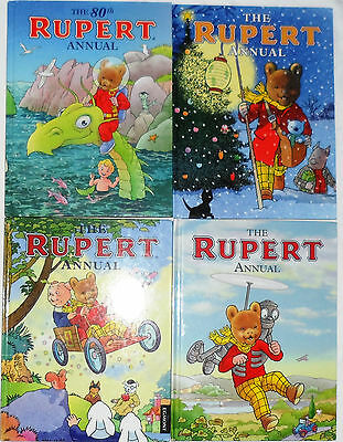 9 x RUPERT Annuals ... Most from 2000s ... Printed in Italy