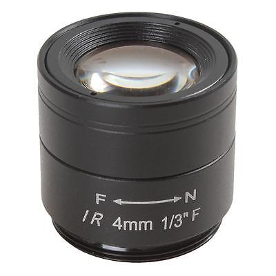 "4mm / F1.2 1/3"" 1.3MP High Definition IR Lens for CCTV Camera"