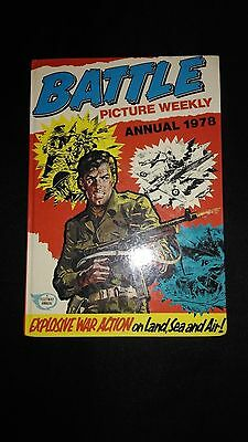 Battle Picture Weekly Annual 1978 Vintage Action/Adventure