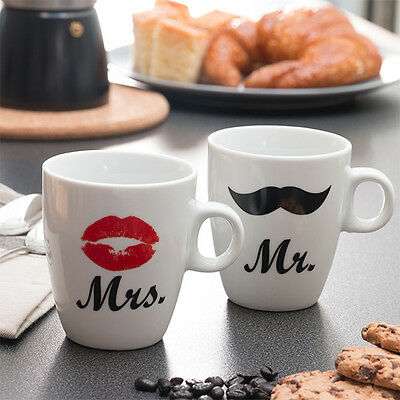 Tazas Mr & Mrs Individuales Romantic Items disponible en varias opciones