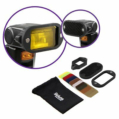 Magnetic Honeycomb Grid Spot Filter Set For Nikon Canon Flash Speedlite Selens