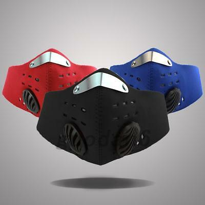 Bike Bicycle Riding PM2.5 Gas Protection Filter Respirator Anti-dust Mask Useful