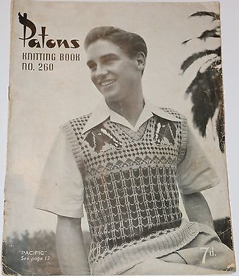 Patons Knitting Books No 260 – Vintage