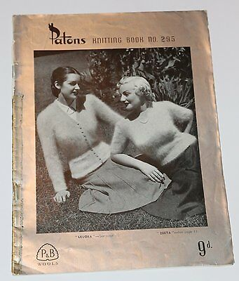 Patons Knitting Books No 264 – Vintage1940s