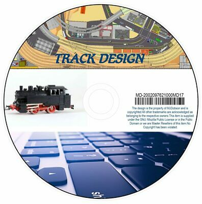 Model Railway Layouts Design-Build Track Plans CAD Software Hornby .