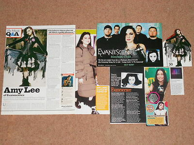 8- AMY LEE / EVANESCENCE Magazine Clippings