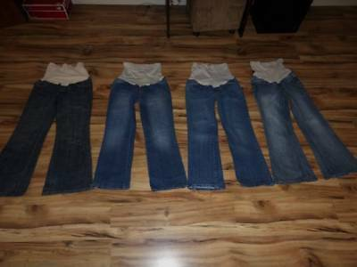 Womans size PM petite medium PS small jeans pants lot 4 American Star Motherhood