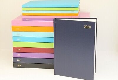 2019 A5 Or A4 'week To View Or Day A Page' Hardback & Casebound Diary & Planner.