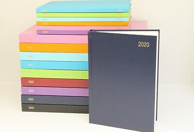 2020 A5 Or A4 'Week To View Or Day A Page' Hardback & Casebound Diary & Planner.