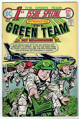 1st Issue Special 2 THE GREEN TEAM DC 1975 FN/VF LOT (6) Joe Simon UNREAD copies