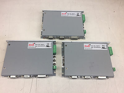 Lot of 3 Elmo Motion Control Cello Servo Drive CEL-5/60TL 5A-60V