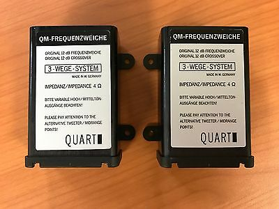 Nos Old School Mq Quart 3-Way Qm Cross-Overs X-Over