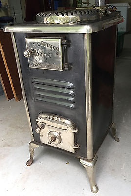 Bedard antique wood stove.
