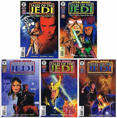 Star Wars: Tales of the Jedi - Golden Age of Sith complete series #1-5 full set
