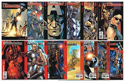 Marvel Ultimates complete series run #1-13 full set #1 signed by Mark Millar!