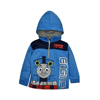Thomas the Tank Engine Toddler / Little Boys' Quarter Zip Pullover Hoodie Blue