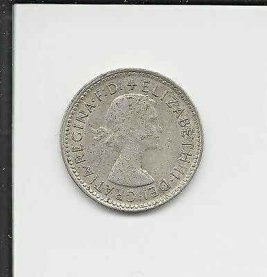 six pence coin dated 1962 from Australia ***USA SELLER***