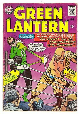 Green Lantern #39 VG (4.0) DC Comic 1965