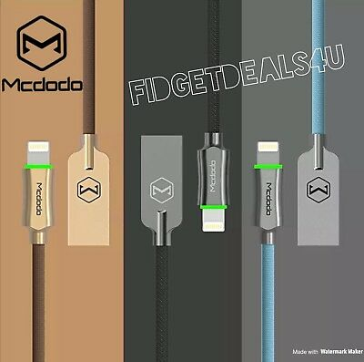 Mcdodo Smart LED Auto Disconnect Lightning Data USB Charging Cable iPhone X 8 7