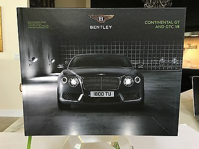 Bentley Owner Book ( Gift with Purchase) Unique Item--Continental GT