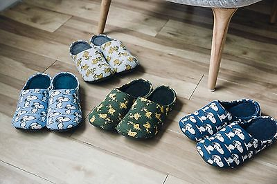 Uniqlo Kaws Peanuts Snoopy Room Shoes Slippers