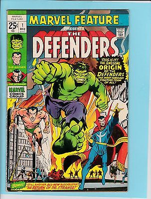 Marvel Feature #1 - F/VF - 1st Defenders (G)