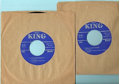 Don Reno & Red Smiley Ep , Green Mountain Hop,Tennesse Breakdown, King Ep, Mint-