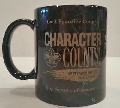 Boy Scouts Friends Of Scouting Last Frontier Council Coffee Cup Character Counts