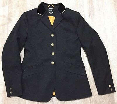 DUBLIN ASHBY Horse Riding Showing Competition Dressage Show Jacket 10 #9470