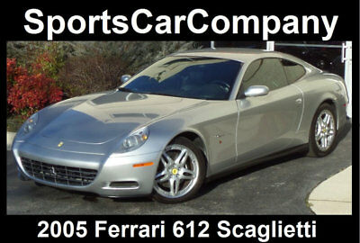 2005 Ferrari 612 Base Coupe 2-Door 2005 FERRARI 612 SCAGLIETTI  LOADED LOW MILE EXAMPLE COVETED COLOR COMBINATION!