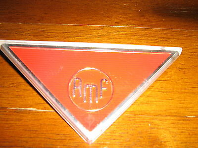 Amf Massey Tractor Mower Emblem Decal Vintage Bowling