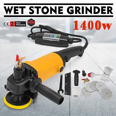 800W WET Polisher Grinder KIT for Concrete Marble Granite Engineered Stone