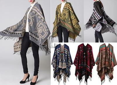 WHOLESALE BULK LOT OF 10 MIXE Style Blanket Poncho Cloak SCARF/SHAWL sc02526